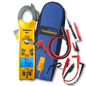 Fieldpiece Dual Display True RMS AC Clamp Meter w/ backlight SC440-Fieldpiece HVAC Tool-Fieldpiece-Cool Tools HVAC-R