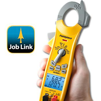 Fieldpiece Wireless Clamp Meter Joblink Compatible SC460-Fieldpiece HVAC Tool-Fieldpiece-Cool Tools HVAC-R