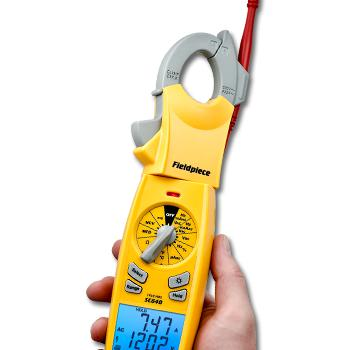 Fieldpiece Premium TRMS 400AAC Clamp Meter with swivel head SC640-Fieldpiece HVAC Tool-Fieldpiece-Cool Tools HVAC-R