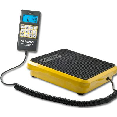 Fieldpiece Digital Refrigerant Scales 50kg SRS1-Digital Scales-Fieldpiece-Cool Tools HVAC-R