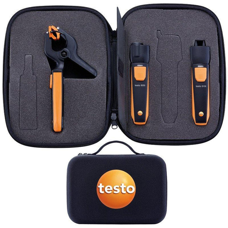 Smart Probes - Heating Set (testo 510i / testo 805i / testo 115i)-Testo-Cool Tools HVAC-R