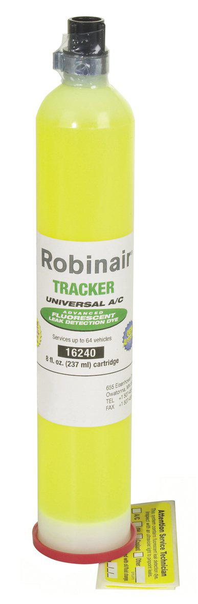 Robinair UV Dye Cartridge 237ml 16240-UV Dye Kit-Robinair-Cool Tools HVAC-R