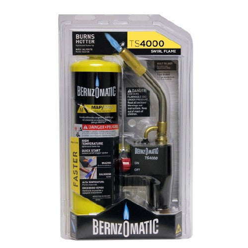 Trigger Start Torch Kit incl. TS4000 Torch w/ MAP-Pro Cylinder - Free Additional MAP Cylinder-welding torch-Bromic-Cool Tools HVAC-R