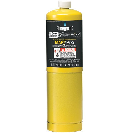 MAP-Pro Disposable Gas Cylinder-welding torch-Bromic-Cool Tools HVAC-R