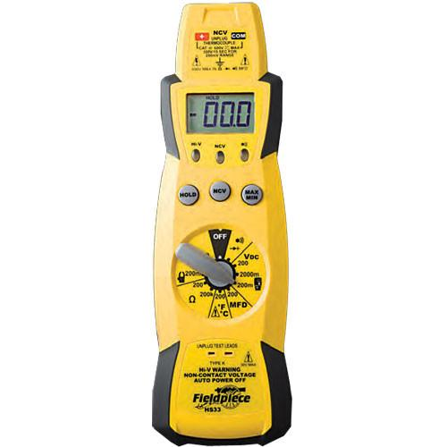 Fieldpiece Stick Meter HVAC Testing Kit with CO Head - HS33K14G-Fieldpiece-Cool Tools HVAC-R