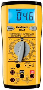Fieldpiece Multimeter LT17A-Fieldpiece HVAC Tool-Fieldpiece-Cool Tools HVAC-R