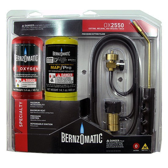 Bernzomatic Oxy MAP Pro Kit-welding torch-Bromic-Cool Tools HVAC-R