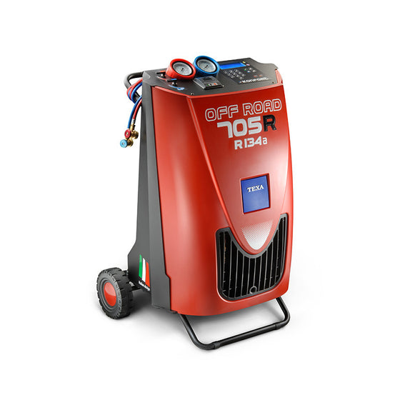 TEXA Konfort 705R Off Road Recharge Station R134a-Recovery Units-Javac-Cool Tools HVAC-R
