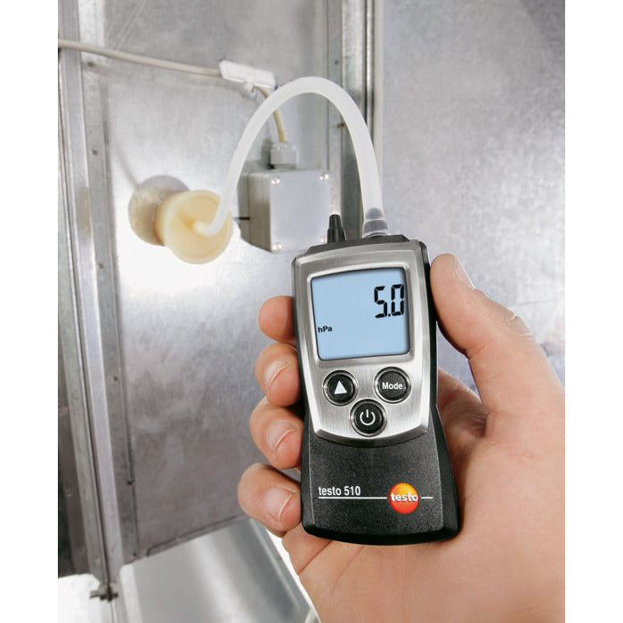 Testo 510 Pocket Differential Pressure Manometer 0563 0510-Manometer-Testo-Cool Tools HVAC-R
