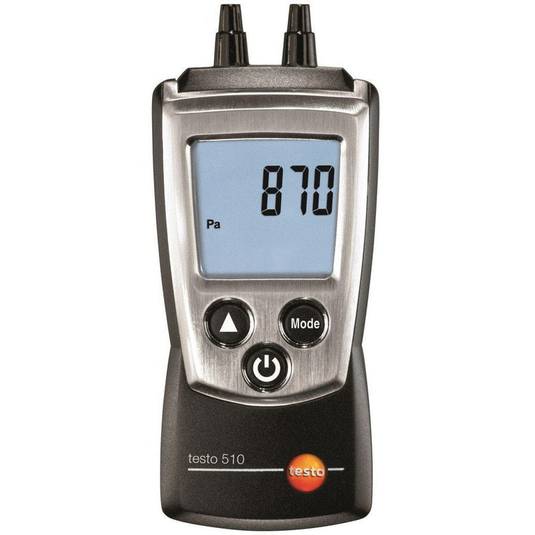 Testo 510 Pocket Differential Pressure Manometer 0563 0510-Testo-Cool Tools HVAC-R