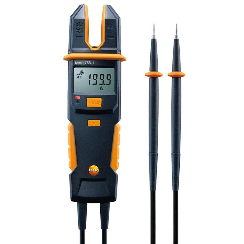 Testo 755-1 current/voltage tester-Electrical Testing-Testo-Cool Tools HVAC-R
