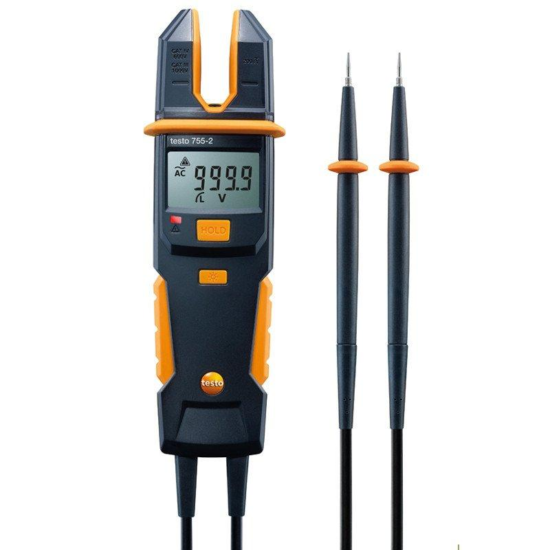 Testo 755-2 current/voltage tester-Electrical Testing-Testo-Cool Tools HVAC-R