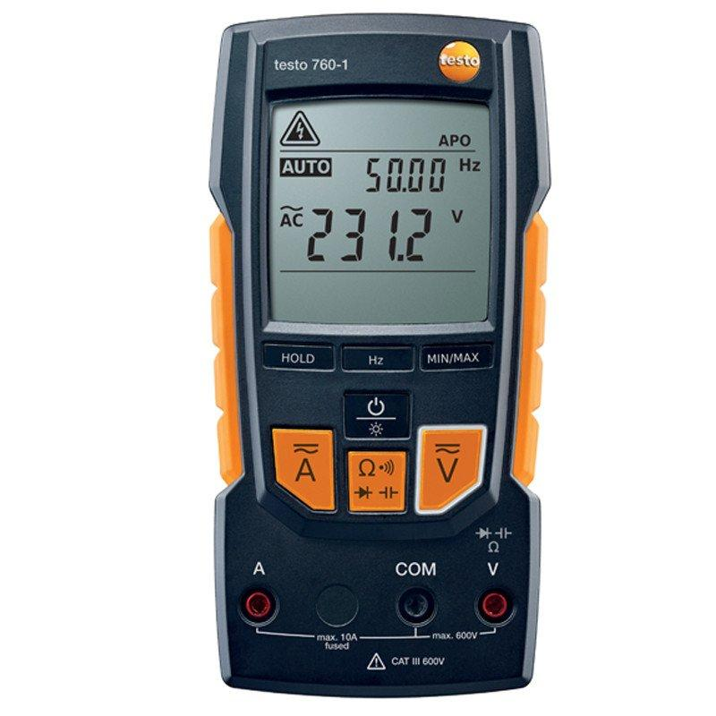 Testo 760-1 digital multimeter-Electrical Testing-Testo-Cool Tools HVAC-R