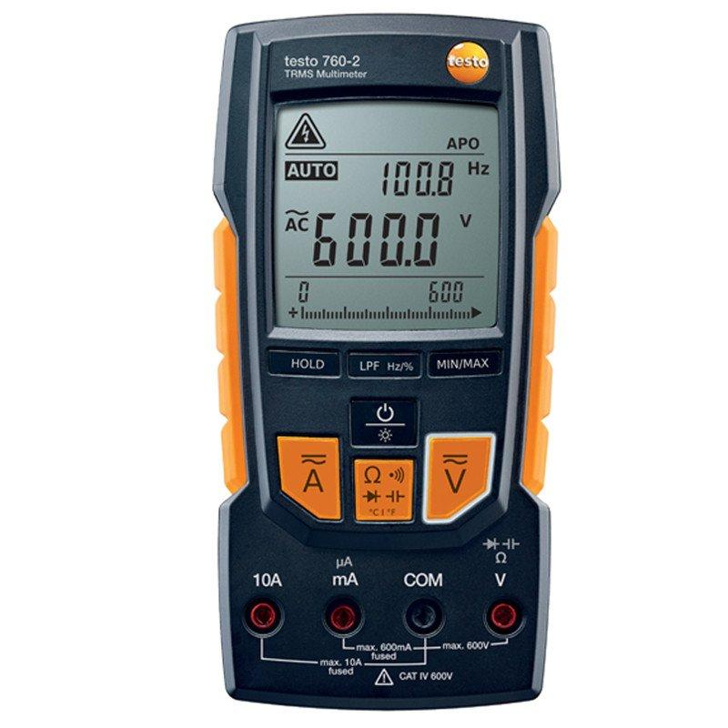 Testo 760-2 digital multimeter-Electrical Testing-Testo-Cool Tools HVAC-R