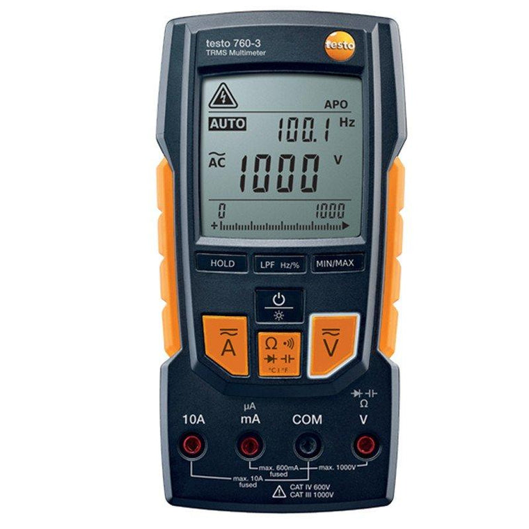 Testo 760-3 digital multimeter-Testo-Cool Tools HVAC-R