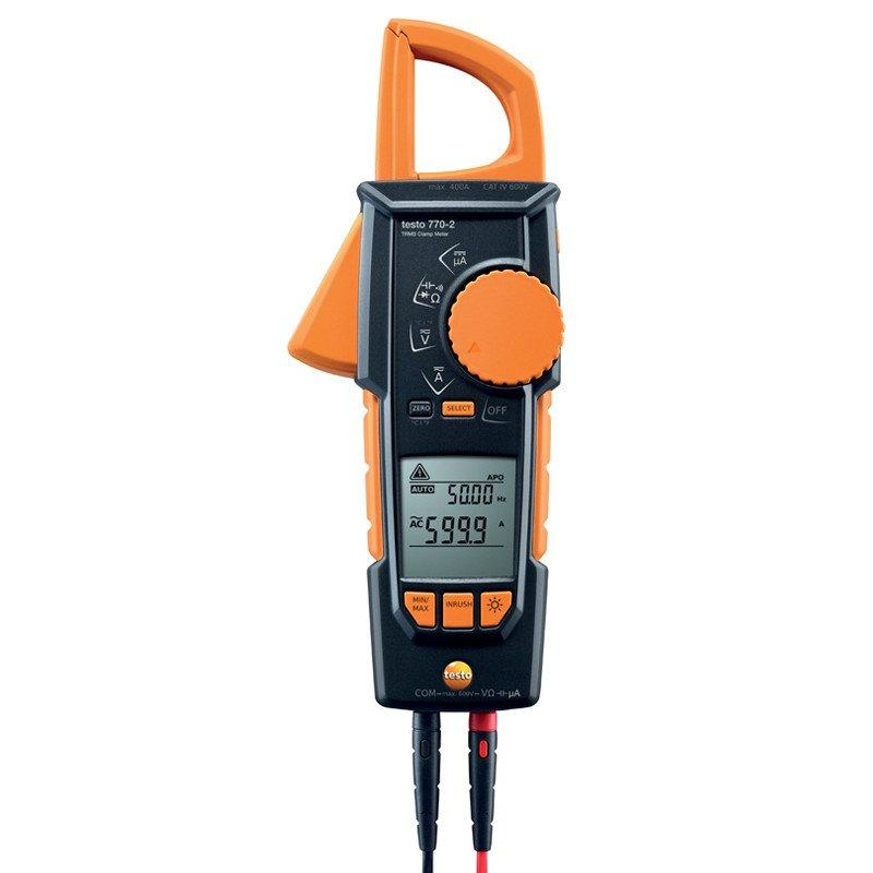 Testo 770-2 clamp meter - 0590 7702-Electrical Testing-Testo-Cool Tools HVAC-R