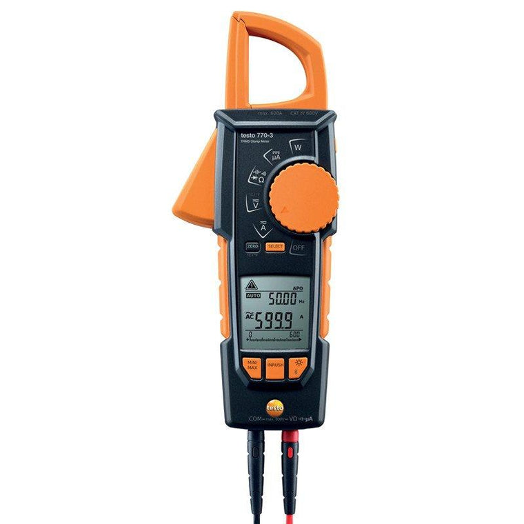 Testo 770-3 clamp meter-Testo-Cool Tools HVAC-R