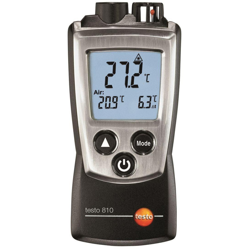 Testo 810 Pocket-Sized Temperature Measuring Instrument 0560 0810-Testo-Cool Tools HVAC-R