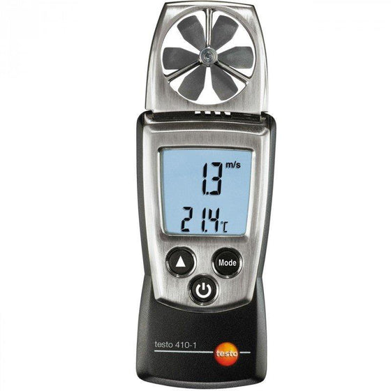 Testo 410-1 Pocket Sized Vane Anemometer-Testo-Cool Tools HVAC-R