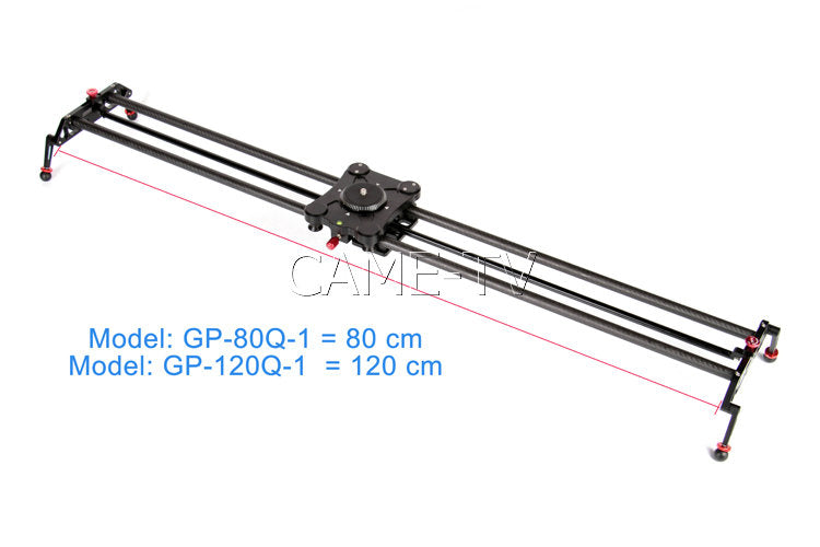 Camera Slider Carbon Fiber 120cm Lightweight GP-120Q