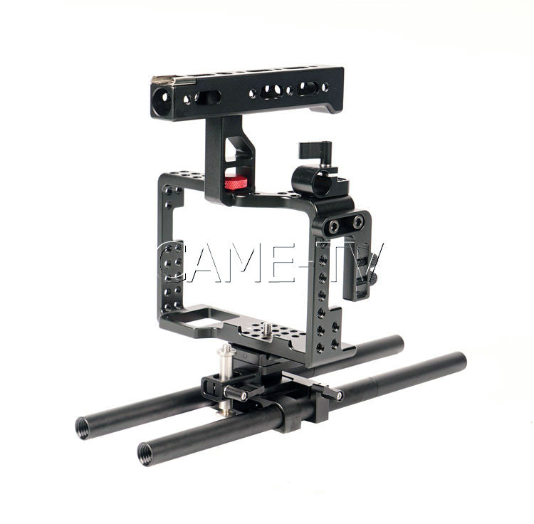 CAME Sony A7RII Camera Rig  Mattebox Follow FocusShoulder Support Kit