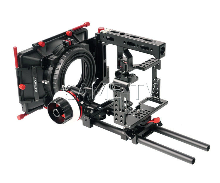 CAME Sony A7RII Camera Rig  Mattebox Follow Focus Kit