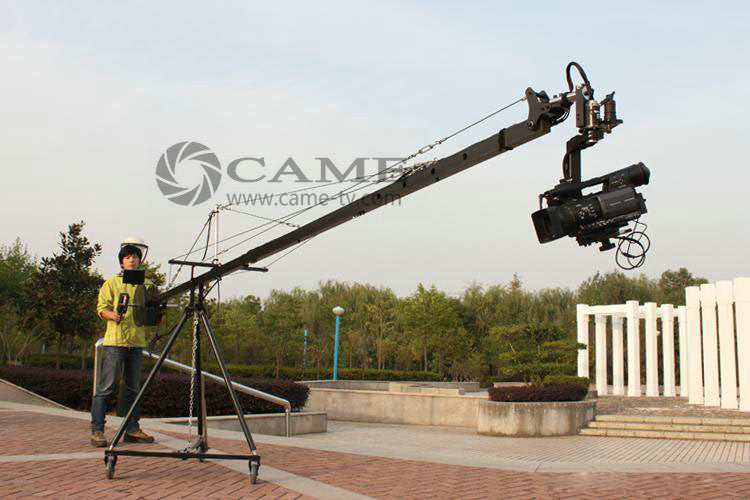 15.8ft Pan Tilt Head 5 kilo Camera Crane Jib