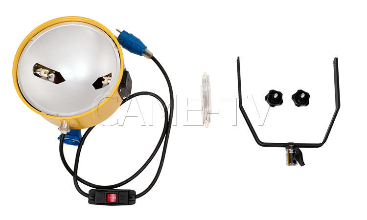220V 2000W Yellow Head Continuous Studio Video Photo Light
