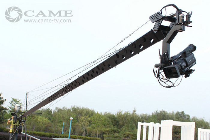 32.8ft Pan Tilt Head 10 kilo Camera Crane Jib