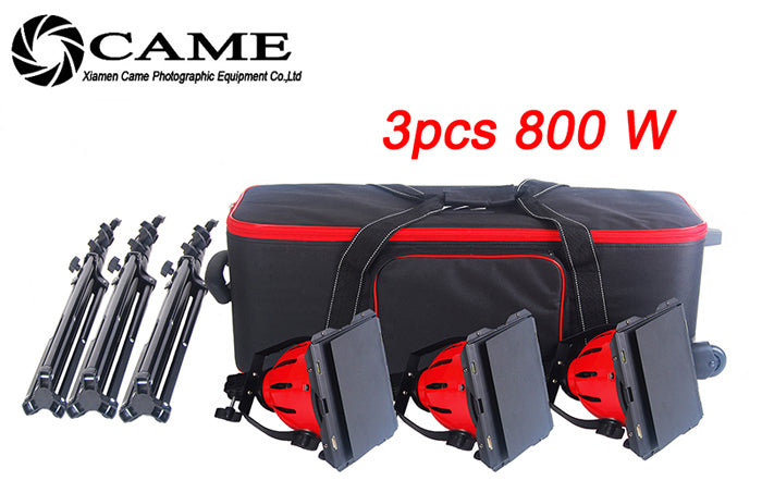 Pro Red Head Continuous Light Lighting + Stands