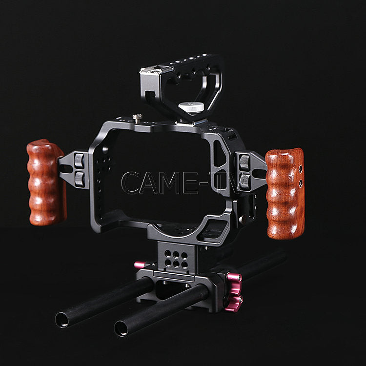 Protective Cage for GH4 Camera with Mattebox and Follow Focus