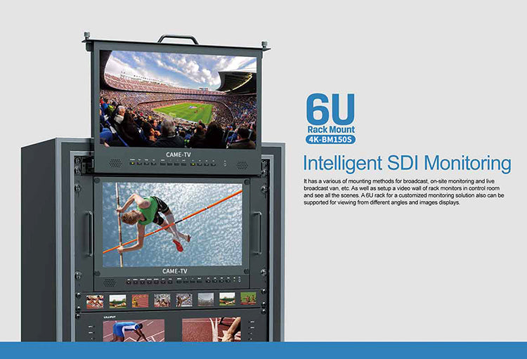 CAME-TV 4K HDMI Carry-on Broadcast Monitor with SDI, HDR and 3D LUTS