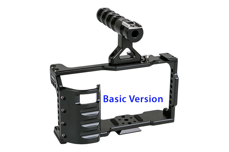 CAME-TV BMPCC Cage With Grip For BlackMagic Pocket Cinema Camera