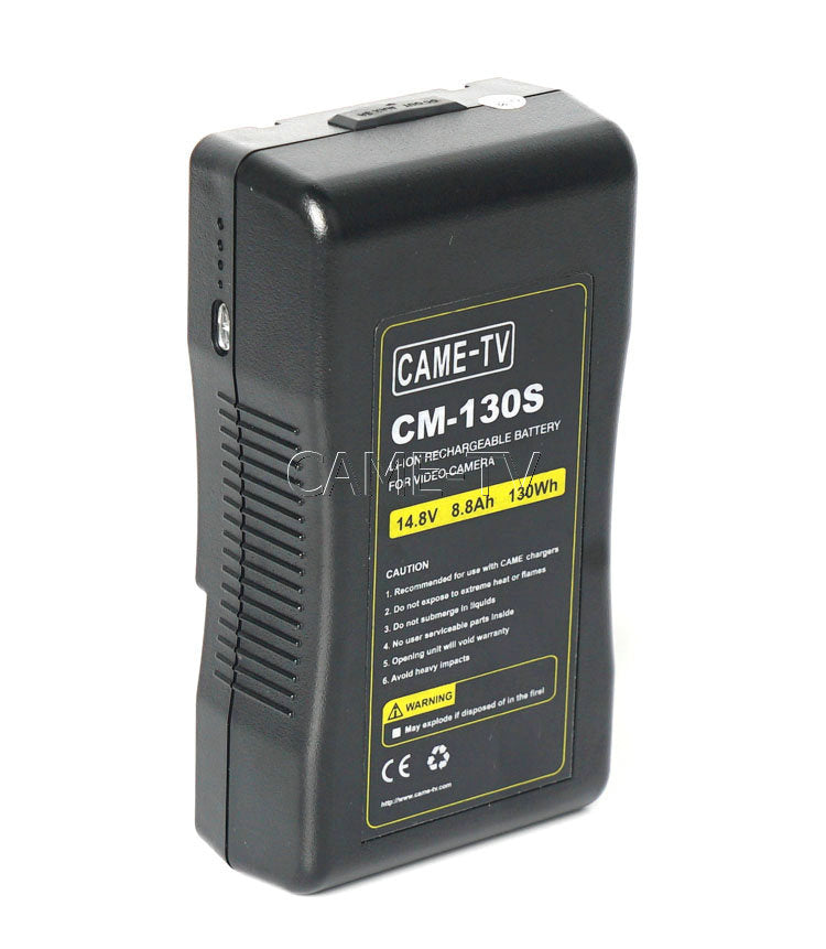 CAME-TV 130Wh Battery V Mount
