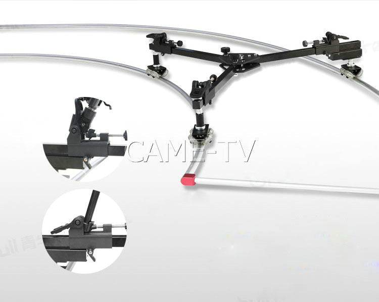 CAME-TV Dolly and Track  Rail System