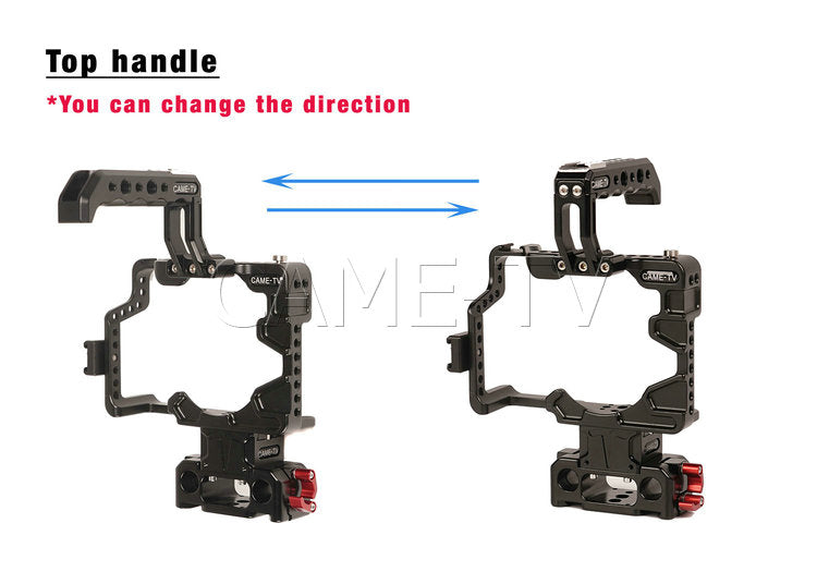 Protective Cage Plus for GH5 Camera Rig