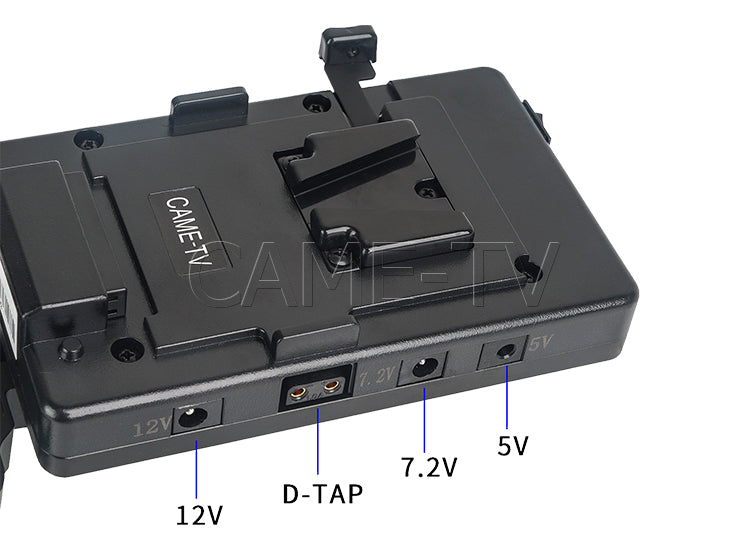 CAME-TV VM02 V-Mount Battery Plate Includes Connection Cable