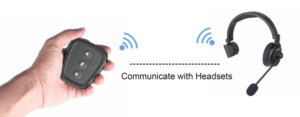 Communicate with Headsets