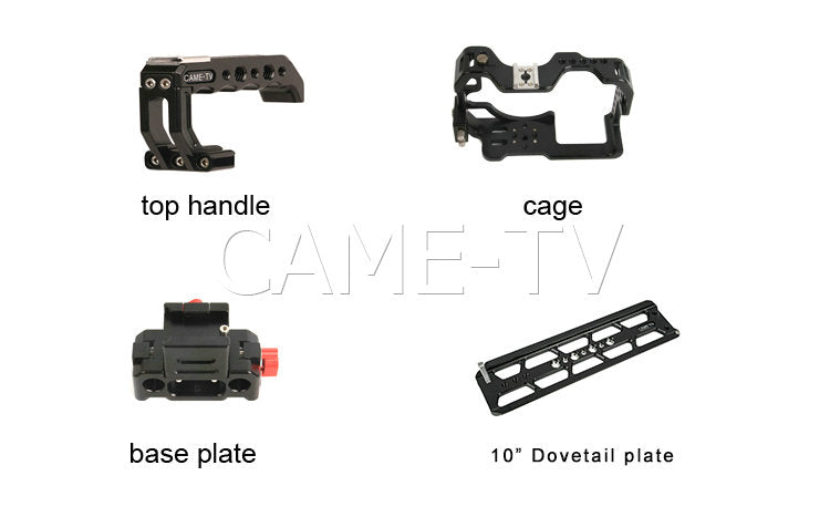 CAME-TV Protective Cage Plus for GH5 Camera Rig