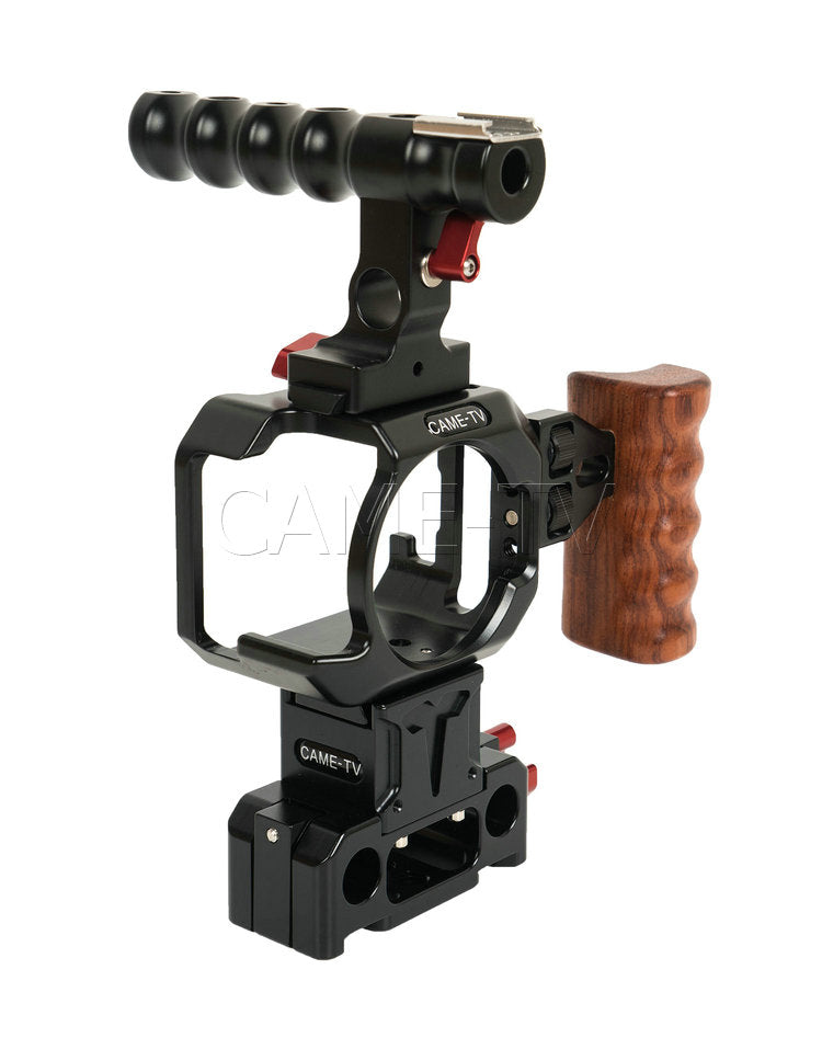 CAME-TV Cage for Blackmagic Micro Cinema Camera