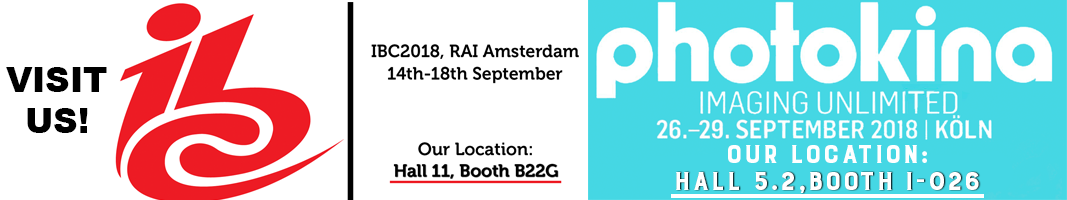 IBC and Photokina 2018