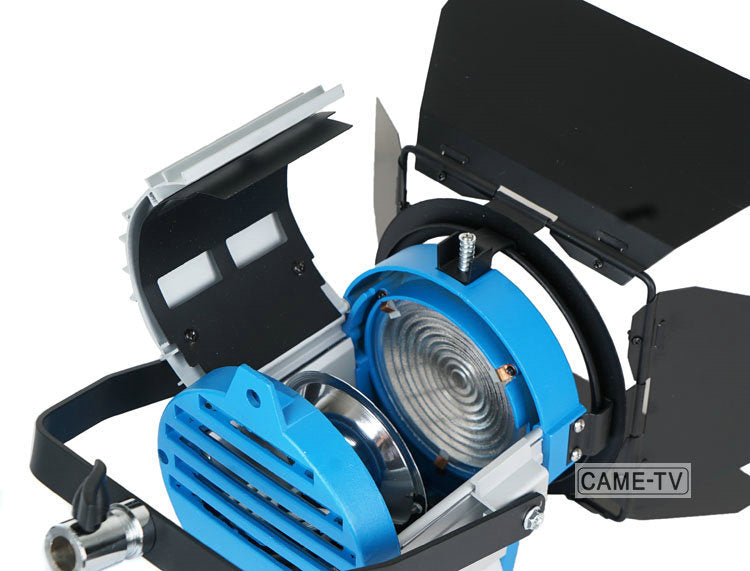 300W Fresnel Tungsten Light With Dimmer Built In