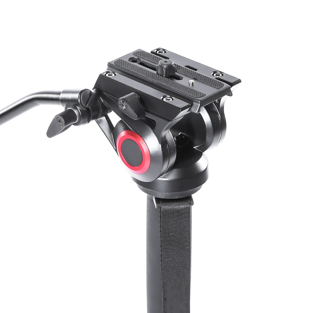 CAME-TV Aluminum Monopod With Pivoting and Lockable Foot Stand