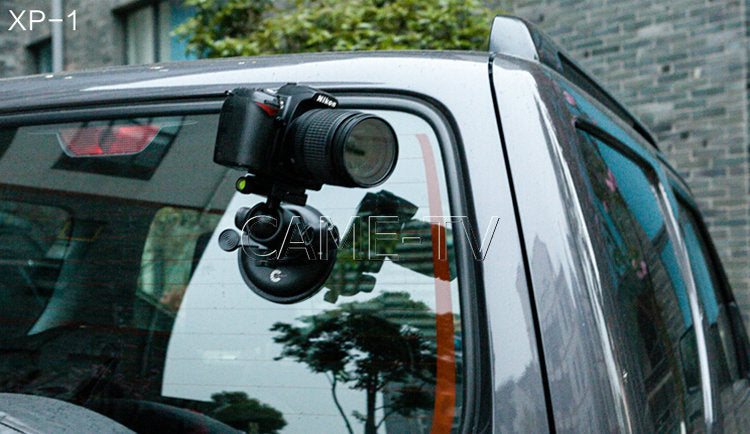 XP-1 Video Camera Video Suction Cup Mount For DV Video Camera 5D 7D HDSLRs
