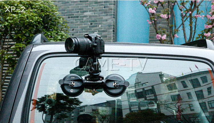 XP-2 Video Suction Cup Mount For DV Video Canon Sony Pansonic Cameras