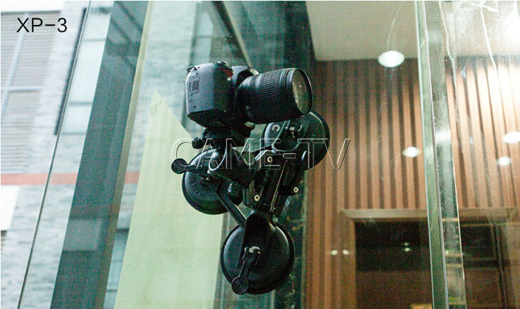 XP-3 Video Camera Movie Suction Cup Mount For DSLR DV Film Cameras