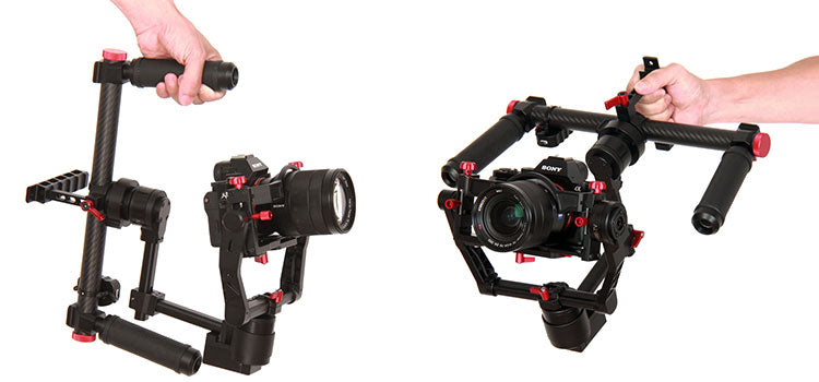 came-tv came-mini2 3 axis gimbal stabilizer