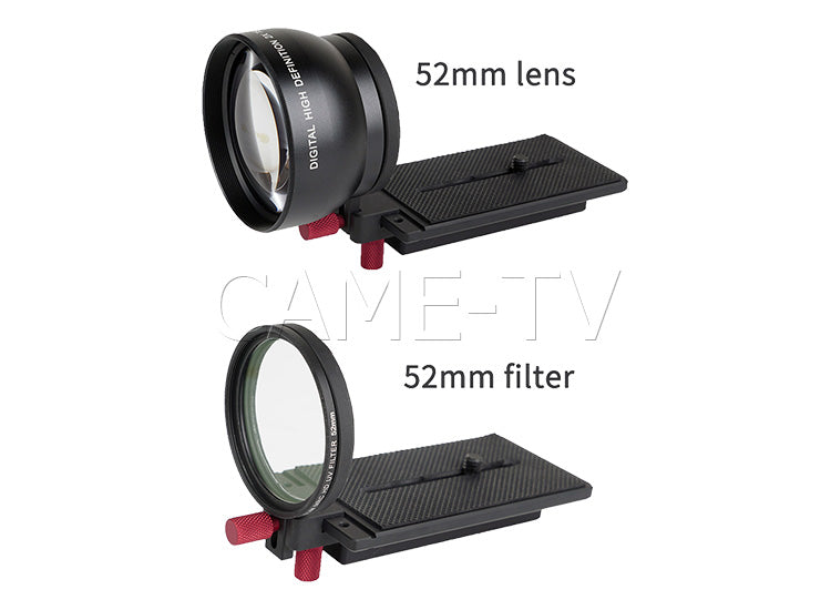 CAME-TV 52mm Lens Adapter