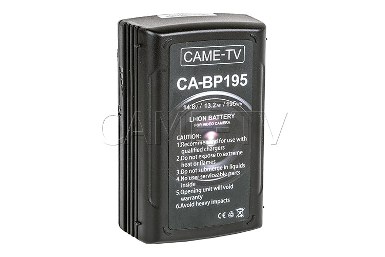 CAME-TV Compact Li-Ion Battery D-Tap and USB Ports