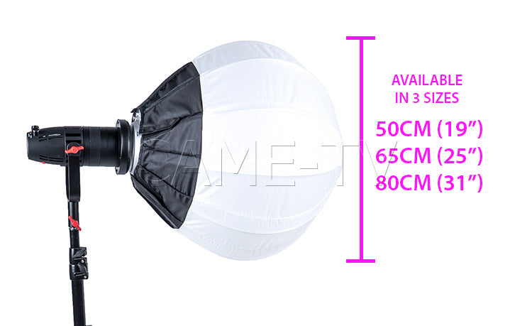 CAME-TV Collapsible Lantern Softbox with Bowens Speed Ring